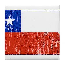 Vintage Chile Tile Coaster
