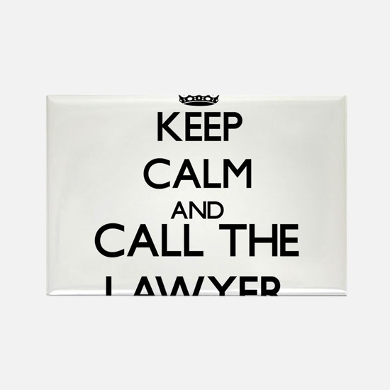 Keep calm and call the Lawyer Magnets