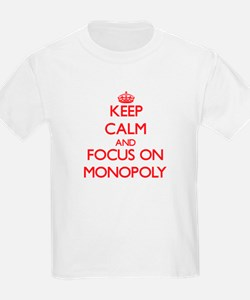 Keep Calm and focus on Monopoly T-Shirt