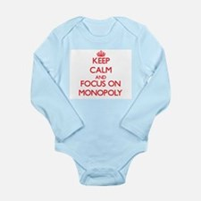 Keep Calm and focus on Monopoly Body Suit