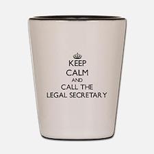 Funny Secretary Shot Glass