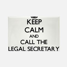 Keep calm and call the Legal Secretary Magnets