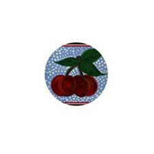 Cherry Jubilee Mini Button