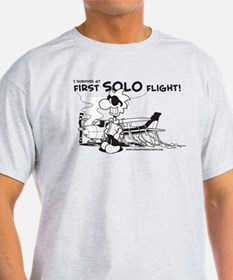 First Solo Flight (Plane) T-Shirt
