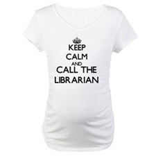 Keep calm and call the Librarian Shirt