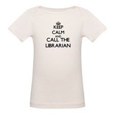 Keep calm and call the Librarian T-Shirt