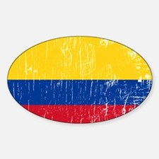 Vintage Colombia Oval Decal