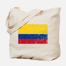 Vintage Colombia Tote Bag