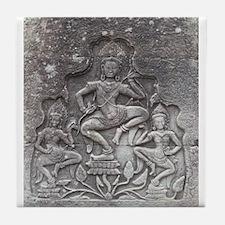 Angkor Wat Tile Coaster