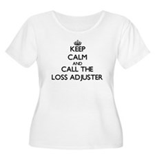 Keep calm and call the Loss Adjuster Plus Size T-S