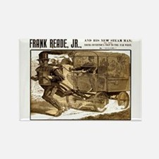 Frank Reade's Steam Man 1892 Rectangle Magnets