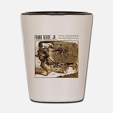 Frank Reade's Steam Man 1892 Shot Glass