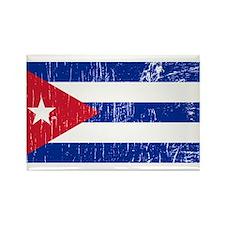 Vintage Cuba Rectangle Magnet