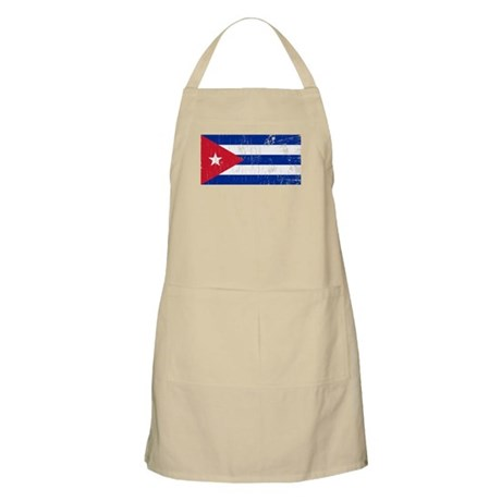 Vintage Cuba BBQ Apron