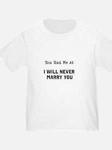 You had me at T-Shirt