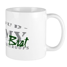 Proud Army Brat (green) Mug