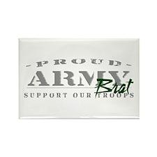 Proud Army Brat (green) Rectangle Magnet