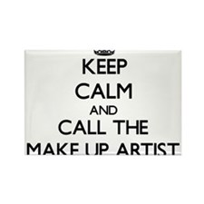 Keep calm and call the Make Up Artist Magnets