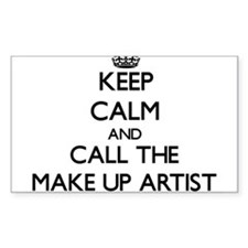 Keep calm and call the Make Up Artist Decal