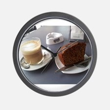 Cute Chocolate and coffee Wall Clock