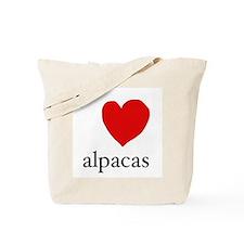 Love alpaca Tote Bag