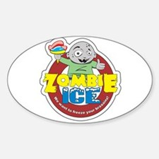 Zombie Ice Logo Decal