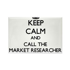 Keep calm and call the Market Researcher Magnets