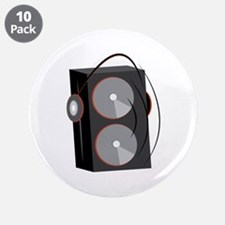 """Speaker Base 3.5"""" Button (10 pack)"""