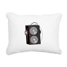 Speaker Base Rectangular Canvas Pillow