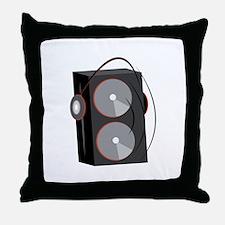 Speaker Base Throw Pillow