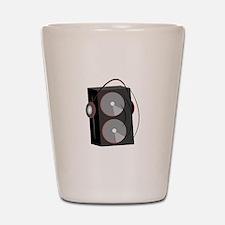 Speaker Base Shot Glass