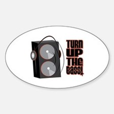 Turn Up The Bass Decal