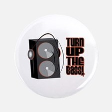 """Turn Up The Bass 3.5"""" Button (100 pack)"""