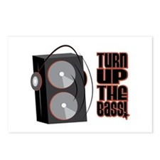 Turn Up The Bass Postcards (Package of 8)