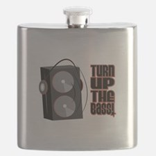 Turn Up The Bass Flask