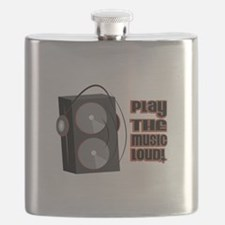Play The Music Loud Flask