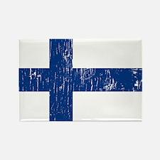 Vintage Finland Rectangle Magnet