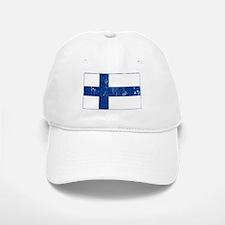 Vintage Finland Baseball Baseball Cap