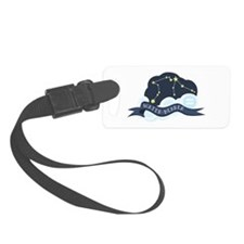 Water Bearer Constellation Luggage Tag