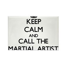 Keep calm and call the Martial Artist Magnets