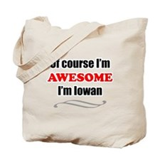 Iowa Is Awesome Tote Bag