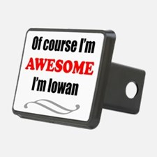 Iowa Is Awesome Hitch Cover