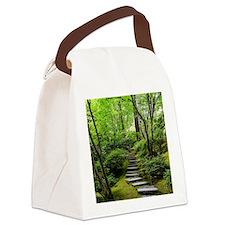 garden path Canvas Lunch Bag