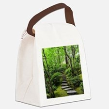 garden path Canvas Lunch Bag