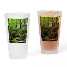 garden path Drinking Glass