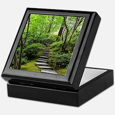 garden path Keepsake Box
