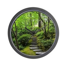 garden path Wall Clock