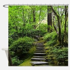 Cute Forest photo Shower Curtain