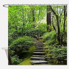 Unique Garden Shower Curtain