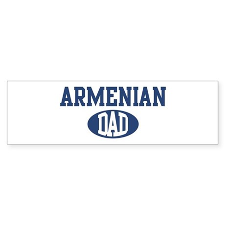 Armenian dad Bumper Sticker